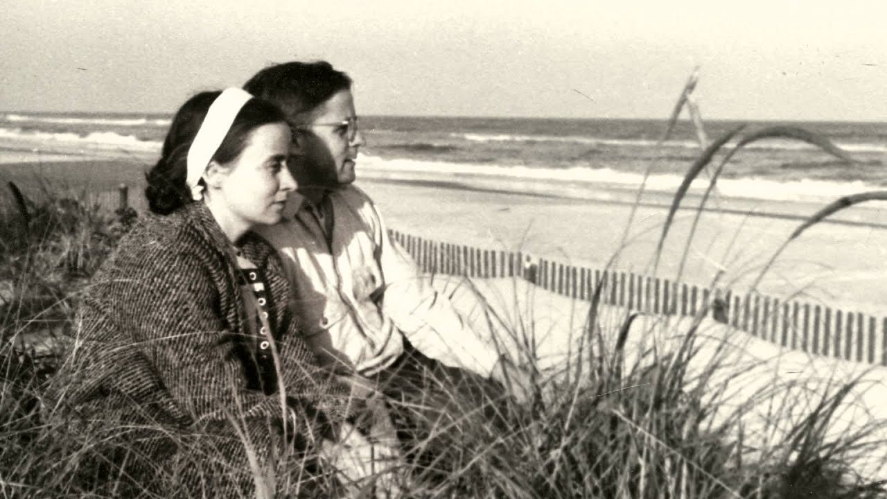 I love this picture of Jane and her husband. Veery tells me it was taken a few years into their marriage at a NJ beach, where they truly found each other.