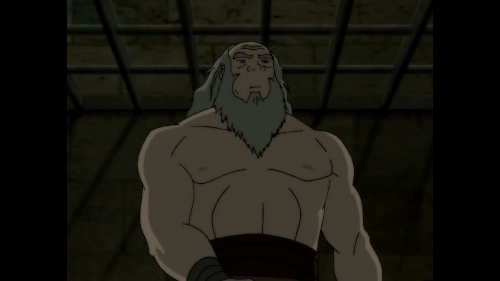 SUPRISE: Uncle Iroh is actually super jacked.