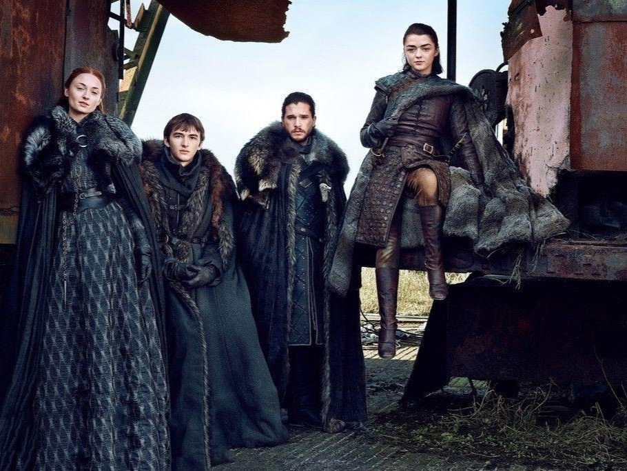 Living in the North means leather and fur and the exploitation of the natural world. The Stark family is a fascinating study of gender and power in a patriarchy.