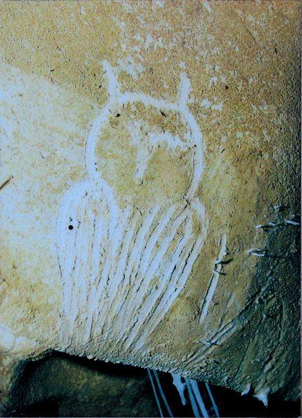 12-14 Owl_engraving,_Chauvet_Cave_(museum_replica).jpg