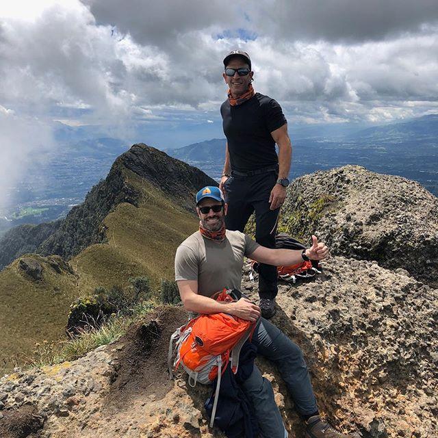 Day 1 Acclimatization Hike (13,780 feet) on Pasochoa (Ecuador)
