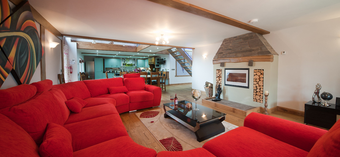 Oak Barn (Sleeps 8+4)