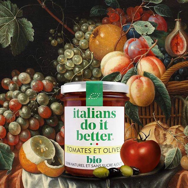 Le délicieux bio italien s'invite à votre table !  Découvrez dès à présent notre gamme Italians do it better BIO dans les Carrefour City et Carrefour Bio près de chez vous 😁  #organic #sauce #tomatoes #olives #italianfood #italia