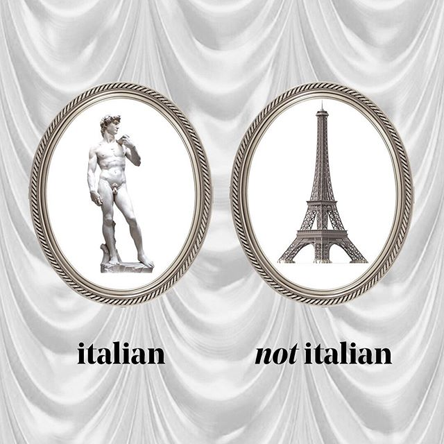 Michelangelo vs Gustave Eiffel 😎 #italiansdoitbetter #italianart #michelangelo #eiffeltower #eiffel
