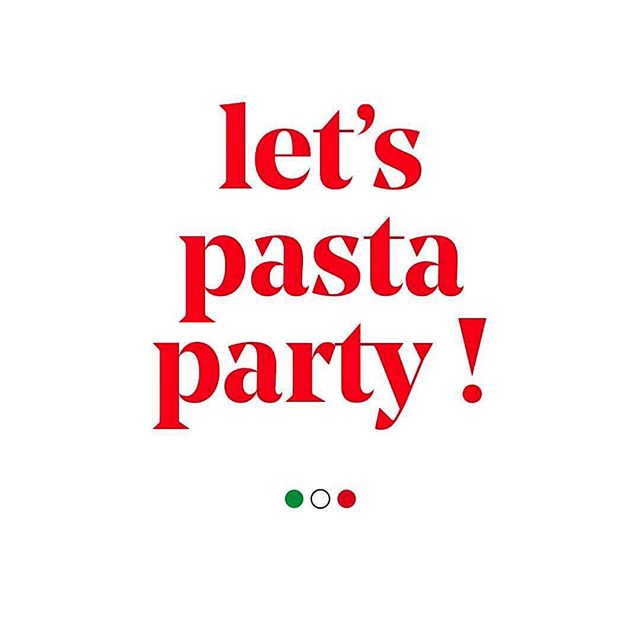 Let's Pasta Party ! 🥳🍝 #italiansdoitbetter #pasta #pastaparty #fridaynight