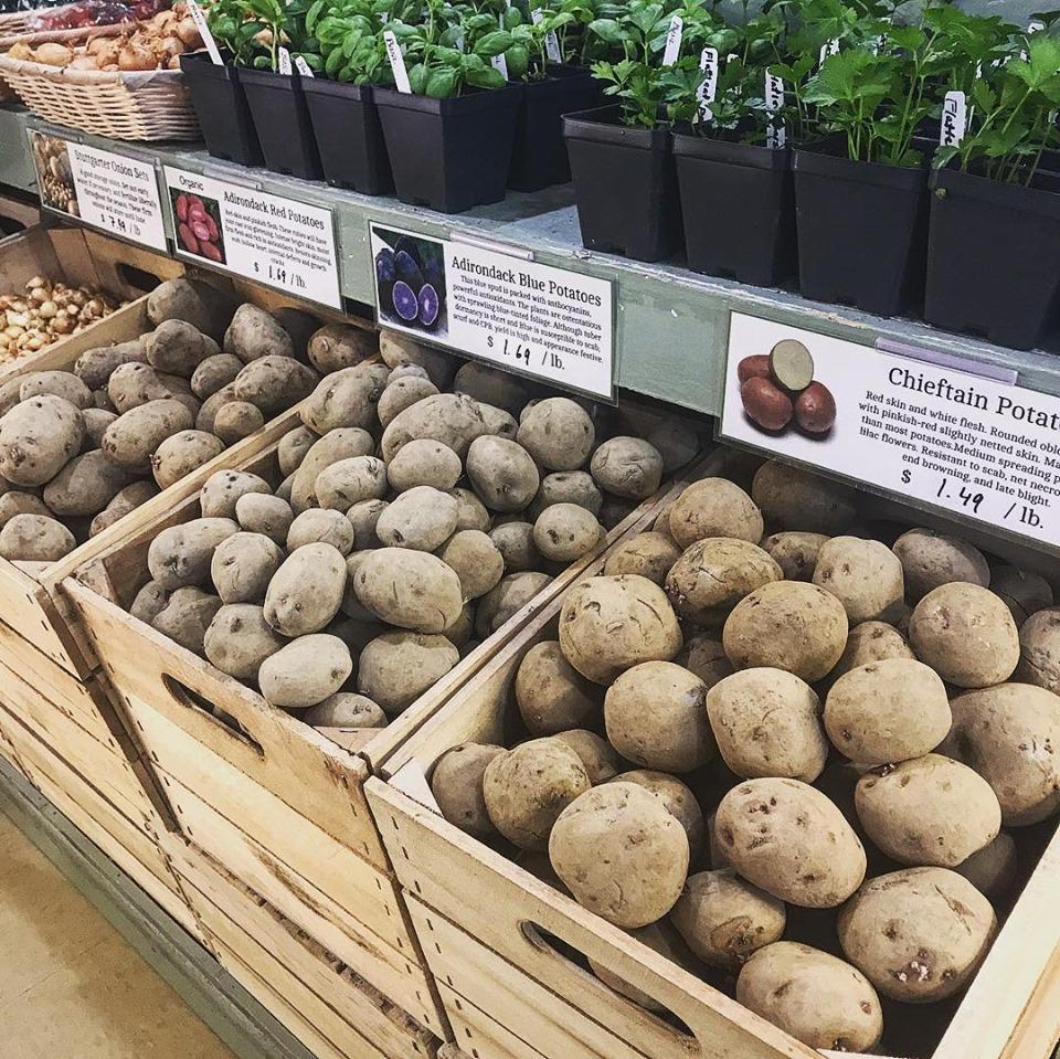 Coop Potatoes