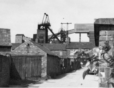 George Street in Langwith, Derbyshire, where Geoff Bright was born. Both sets of Geoff'sgrandparents lived on this street. Langwith became the epitome of the ruined pit village in the 1990s when it was know as'The Bronx'