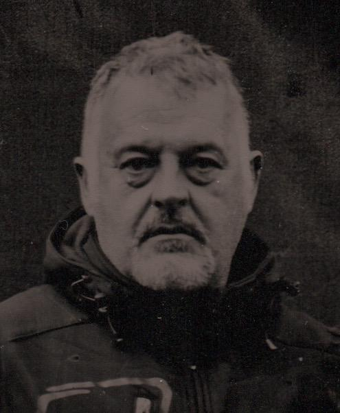 Steve Pool - Collodion Plate. Copyright Jonathan Turner