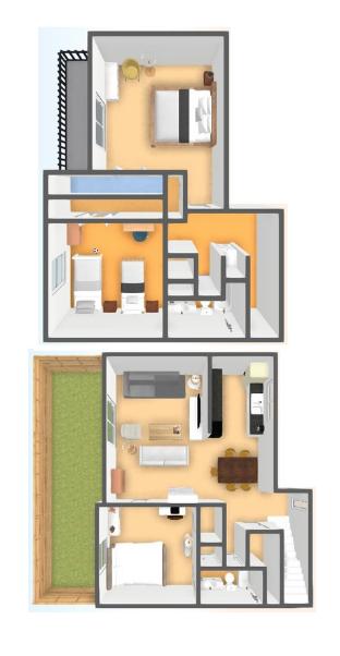 3 Bedroom, 2 Bathroom Townhome