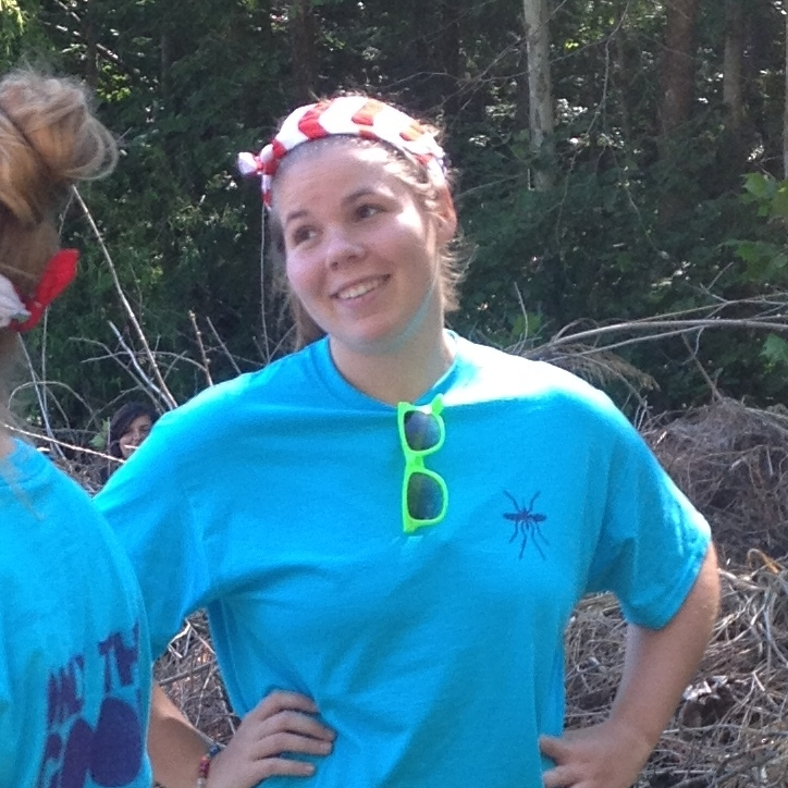 Amanda Kalupa   Tyson Undergraduate Fellow '14 WashU '16  Project: Urban mosquito ecology