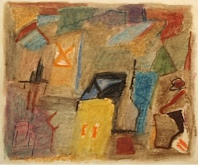 Untitled , 1990 Pastel and oil on paper 13 1/4 x 16 3/4 inches  Inquire