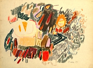 Untitled, 1985 Pastel on paper 18 x 24 inches  Inquire