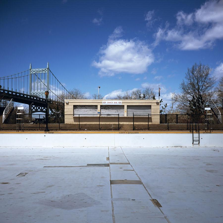 Astoria Park Pool, Queens, 2011 Photograph 20 x 20 inches  Inquire