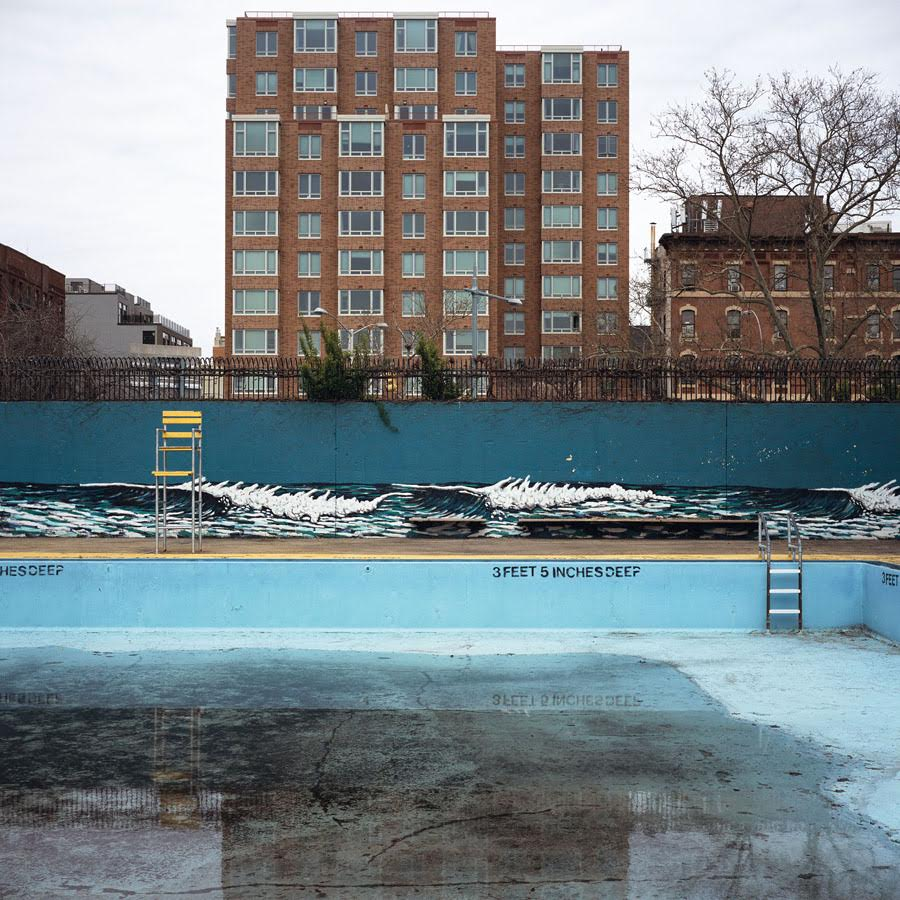 Wagner Houses Pool, Manhattan,  2011 Photograph 20 x 20 inches  Inquire