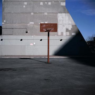Photo of basketball court