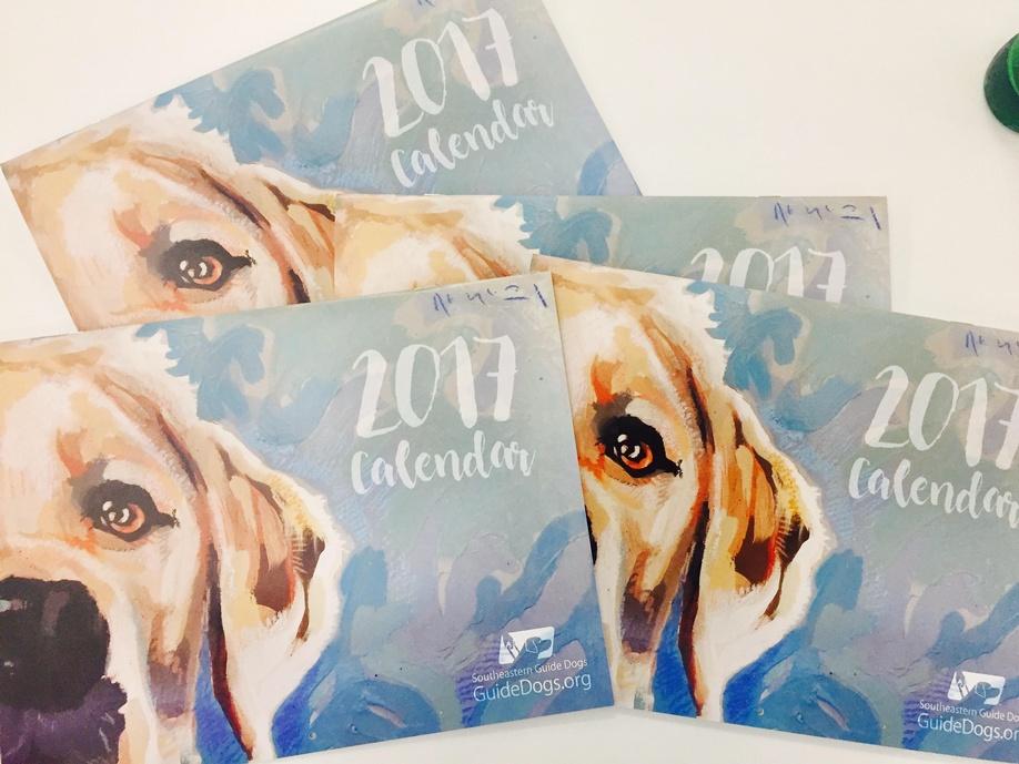 2017 Calendar Southeastern Guide Dogs