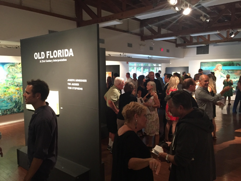 Opening Reception, Old Florida, 2016