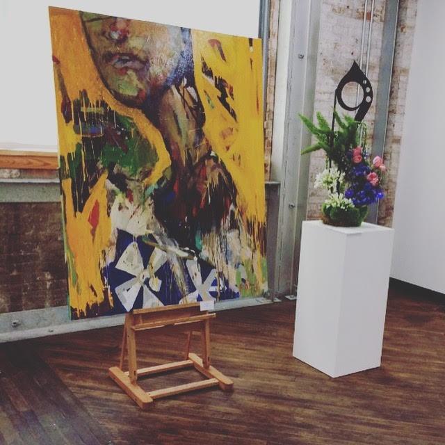 Thumbnails | Zoom 20 / 73 Art in Bloom Exhibition, Paducah School of Art, 2016