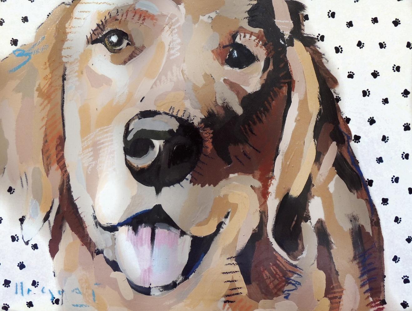 "Tim Jaeger, ""Confidence""/September- Southeast Guide Dogs 2016 Calendar"