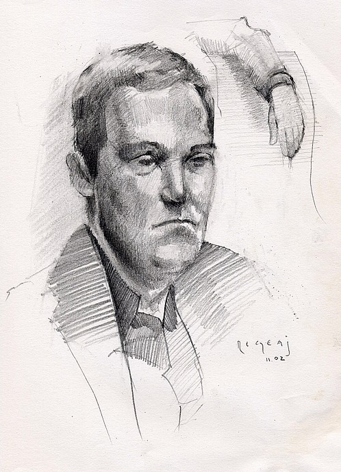 Tim Jaeger, Figure Study, 2002