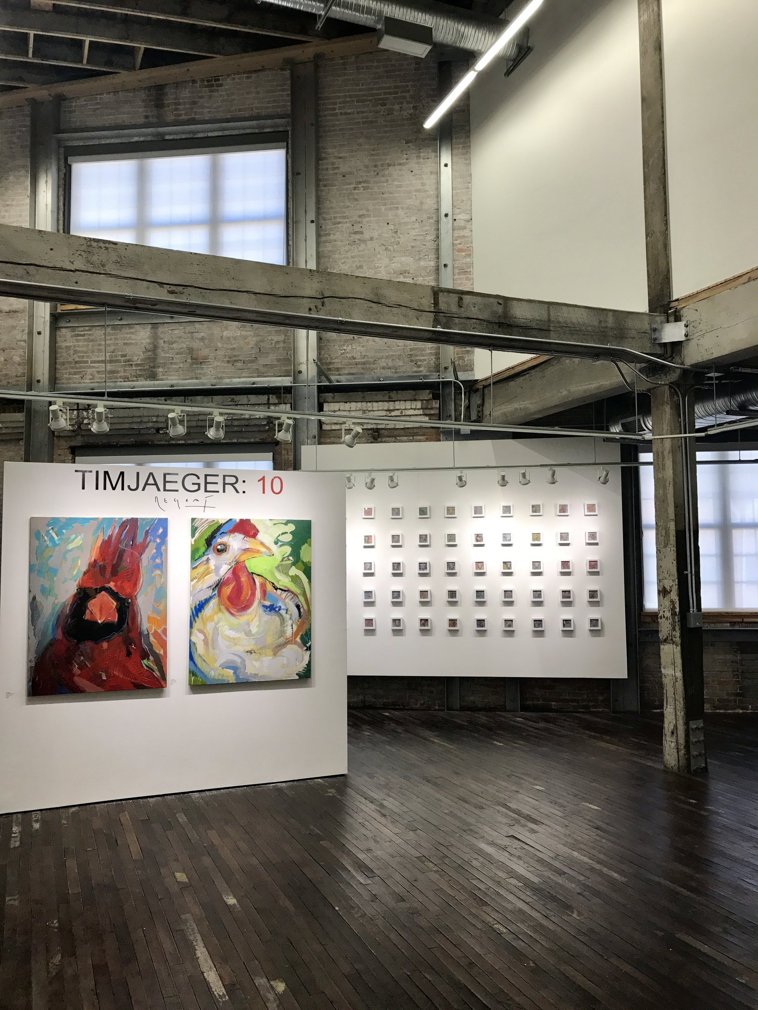 Tim Jaeger:10, Paducah School of Art + Design, 2017