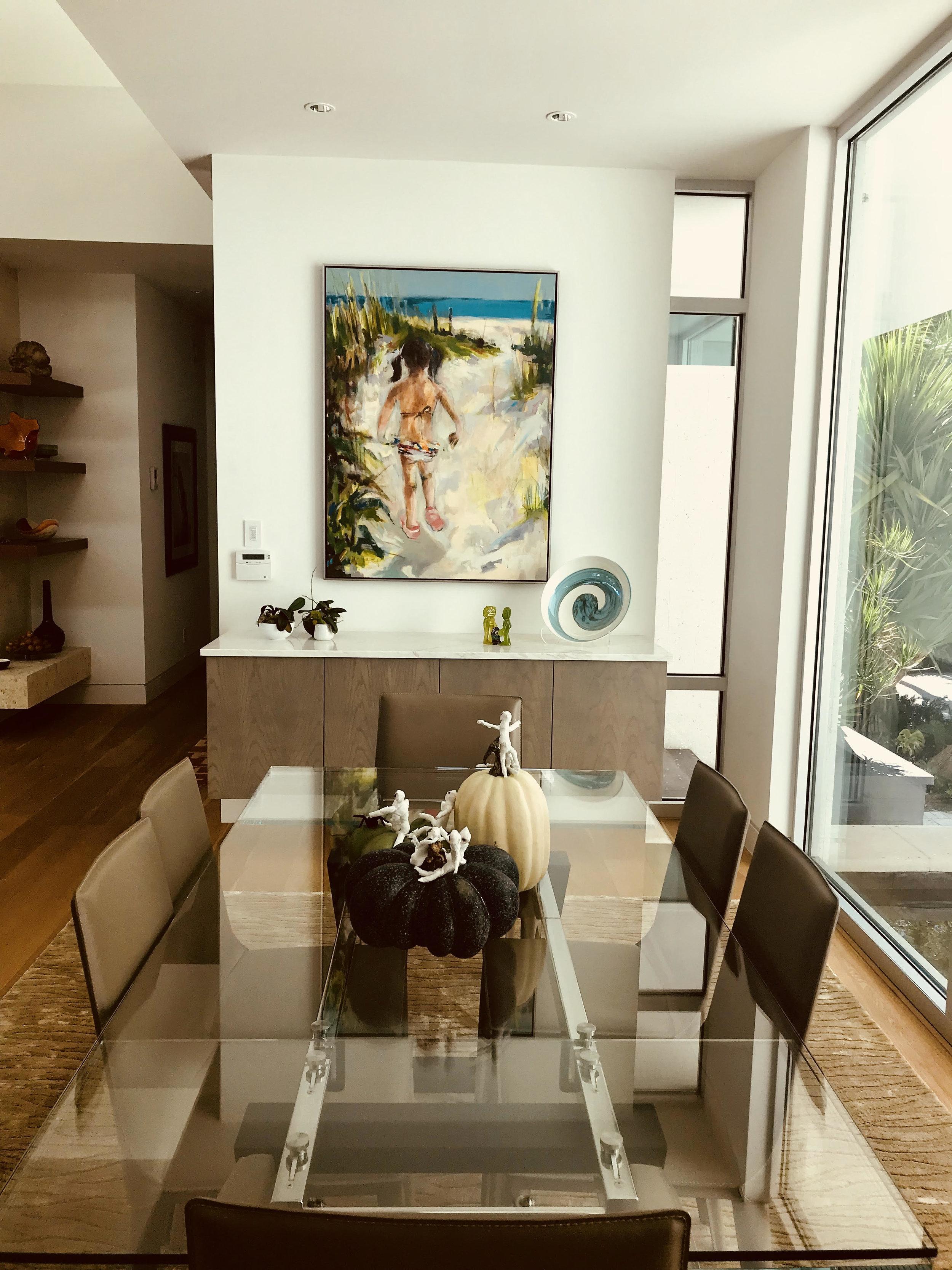 Residential installation view, Siesta Beach