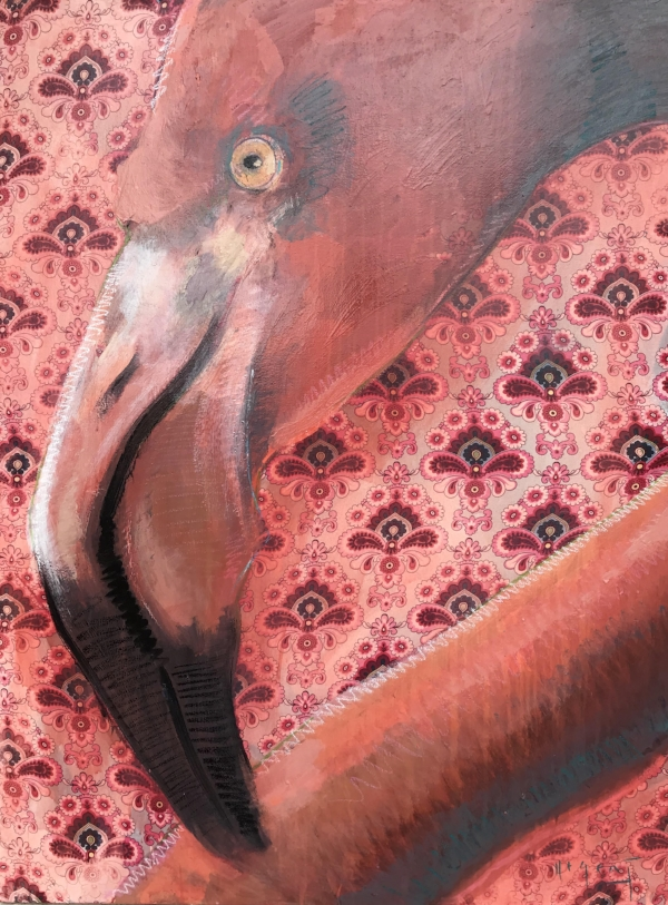 Tim Jaeger, Pink Flamingo no. I, 2018