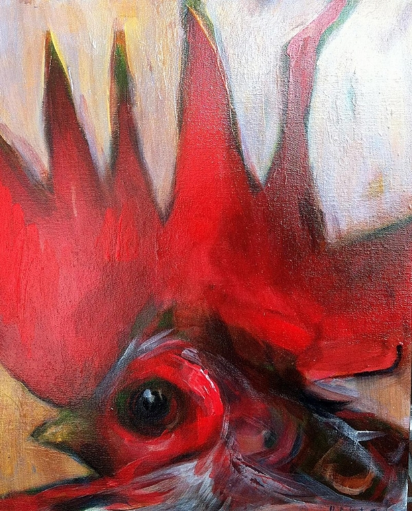 Tim Jaeger, Small Rooster II, 2012