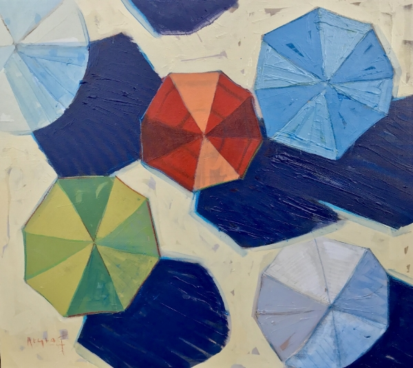 Tim Jaeger, Umbrella Color Study, 2017