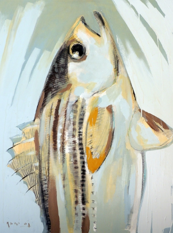 TIM JAEGER, STRIPPED BASS, 2015