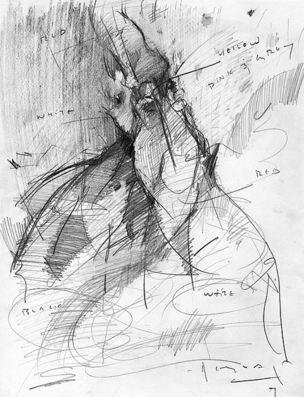 Tim Jaeger, Chicken Scratch #1, 2011