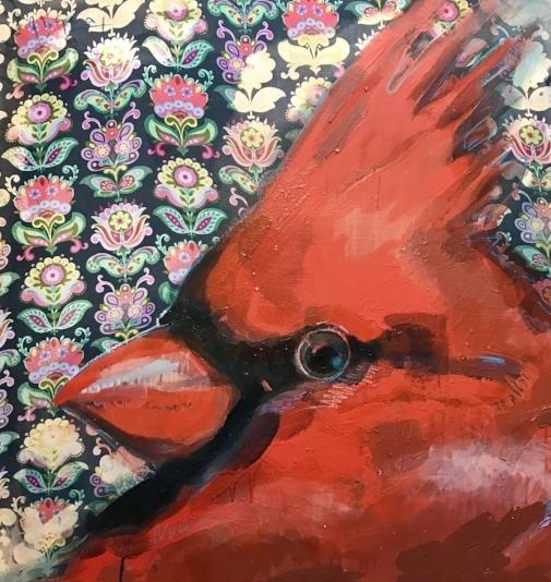 Tim Jaeger, Cardinal no. II, 2018