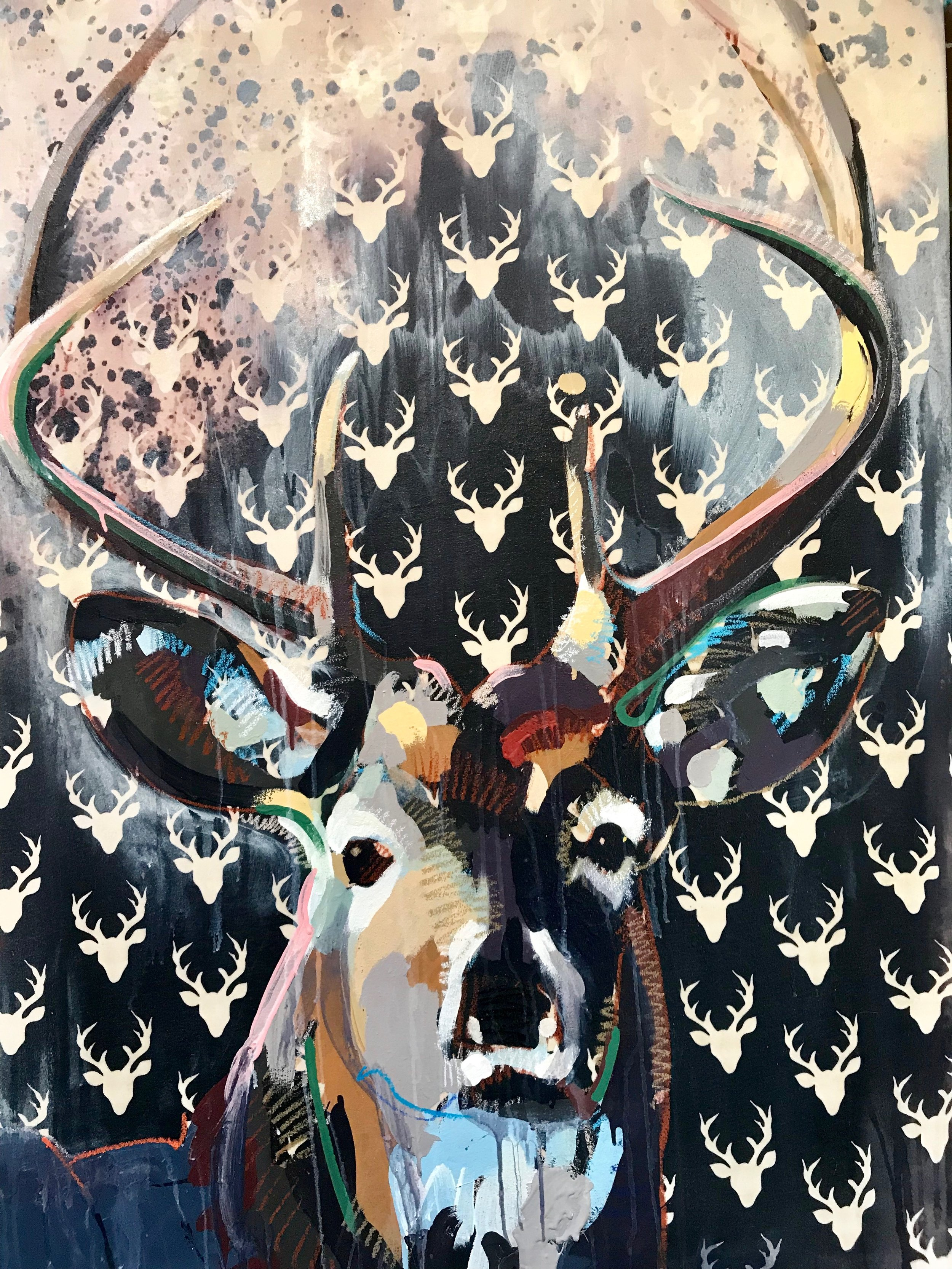 TIM JAEGER, STAG, 2018