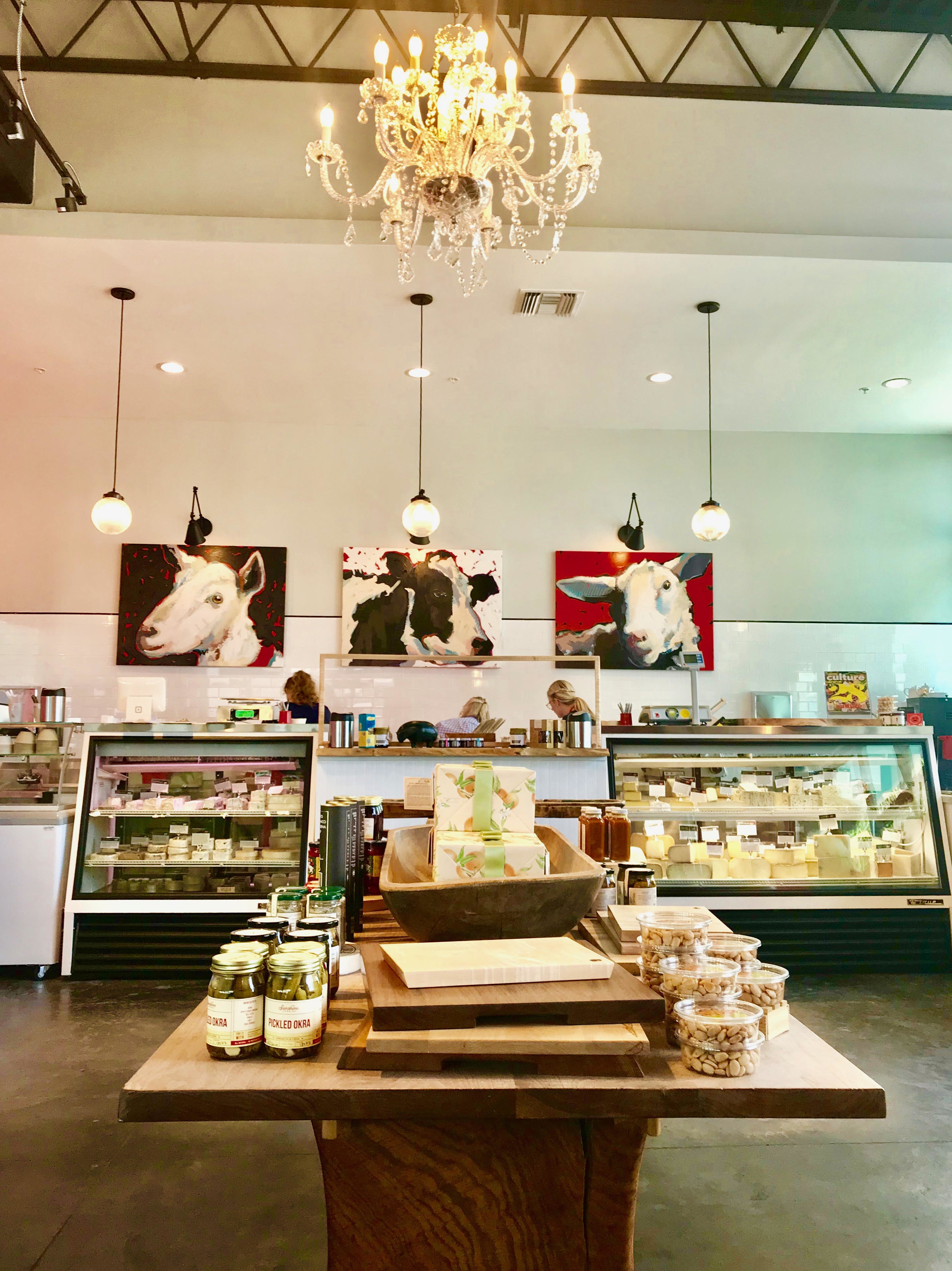 Installation, Artisan Cheese Company, Sarasota, FL