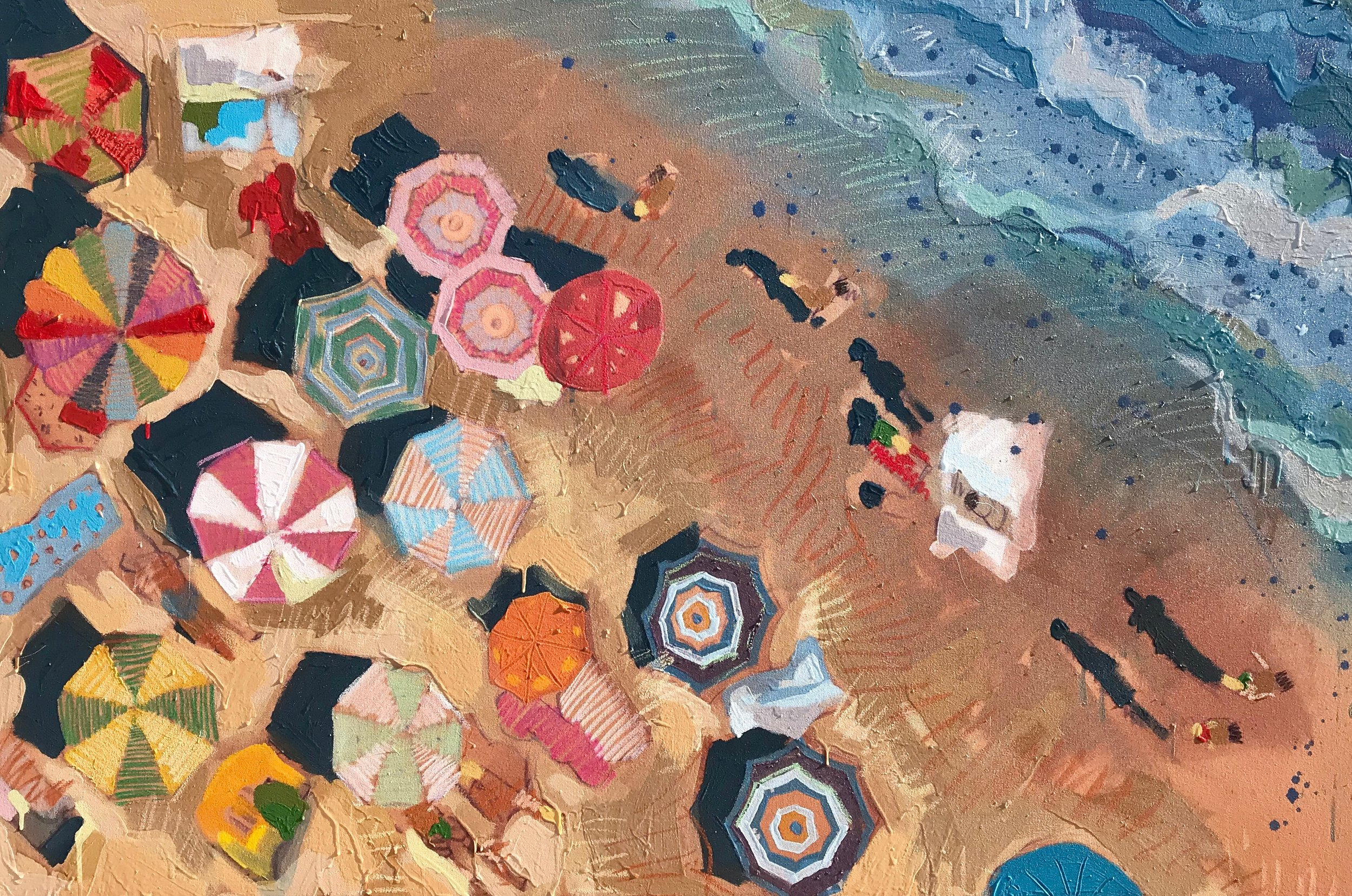 TIM JAEGER, LABOR DAY ON LIDO BEACH no. 6, 2019