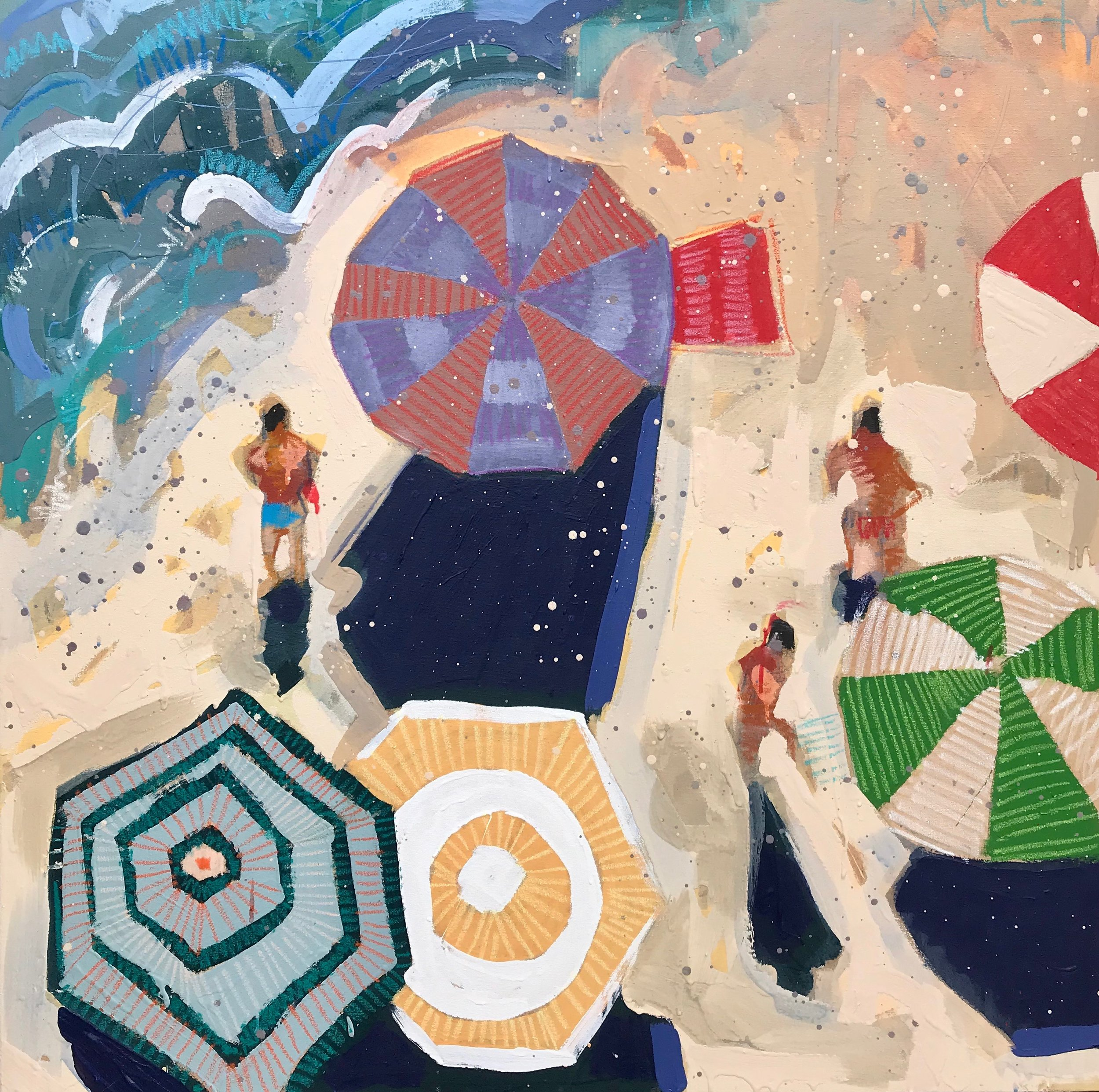 TIM JAEGER, LABOR DAY ON LIDO BEACH no. 8, 2019