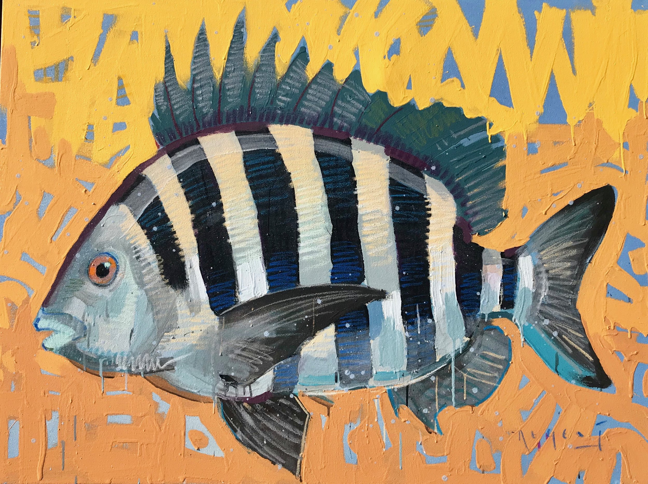 TIM JAEGER, SHEEPSHEAD no. 3, 2019