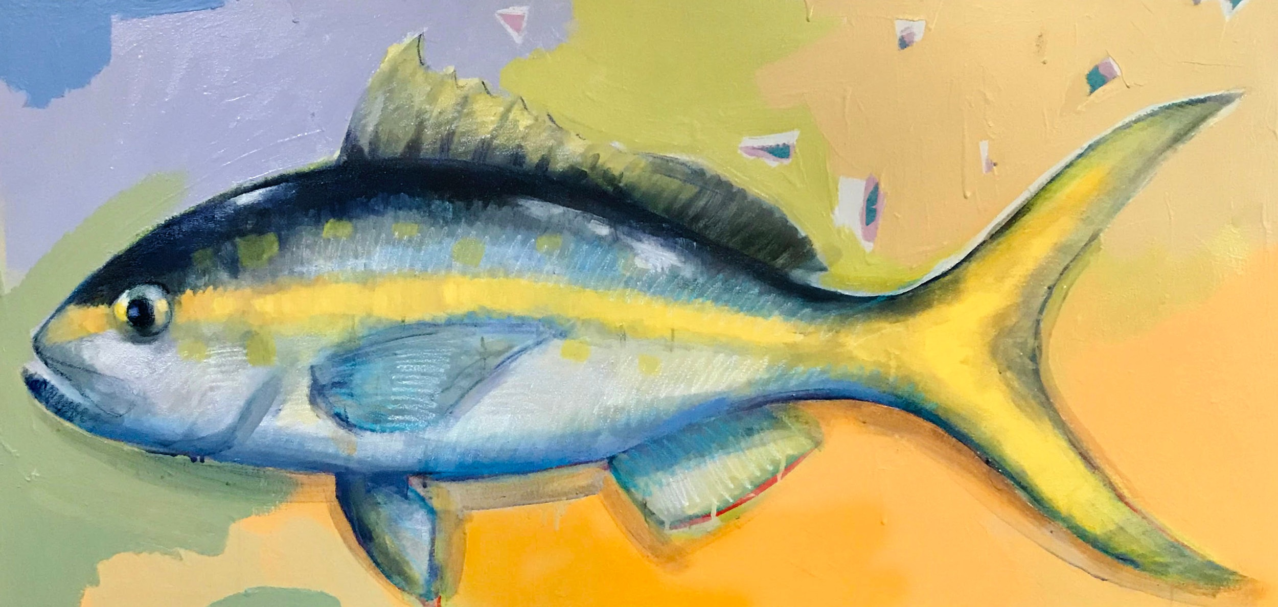 TIM JAEGER, YELLOW TAIL SNAPPER, 2018