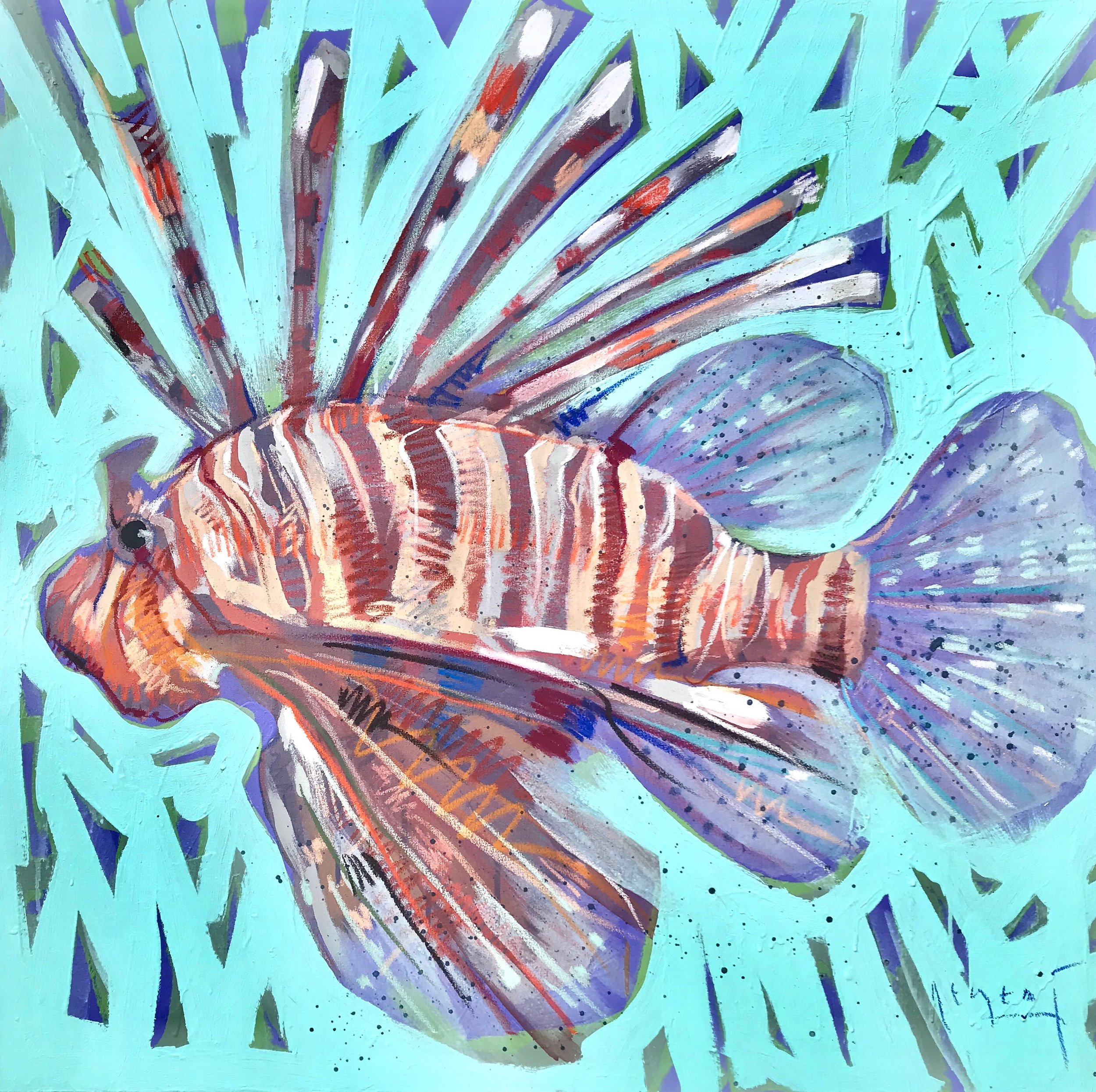 TIM JAEGER, LIONFISH no. 9, 2019