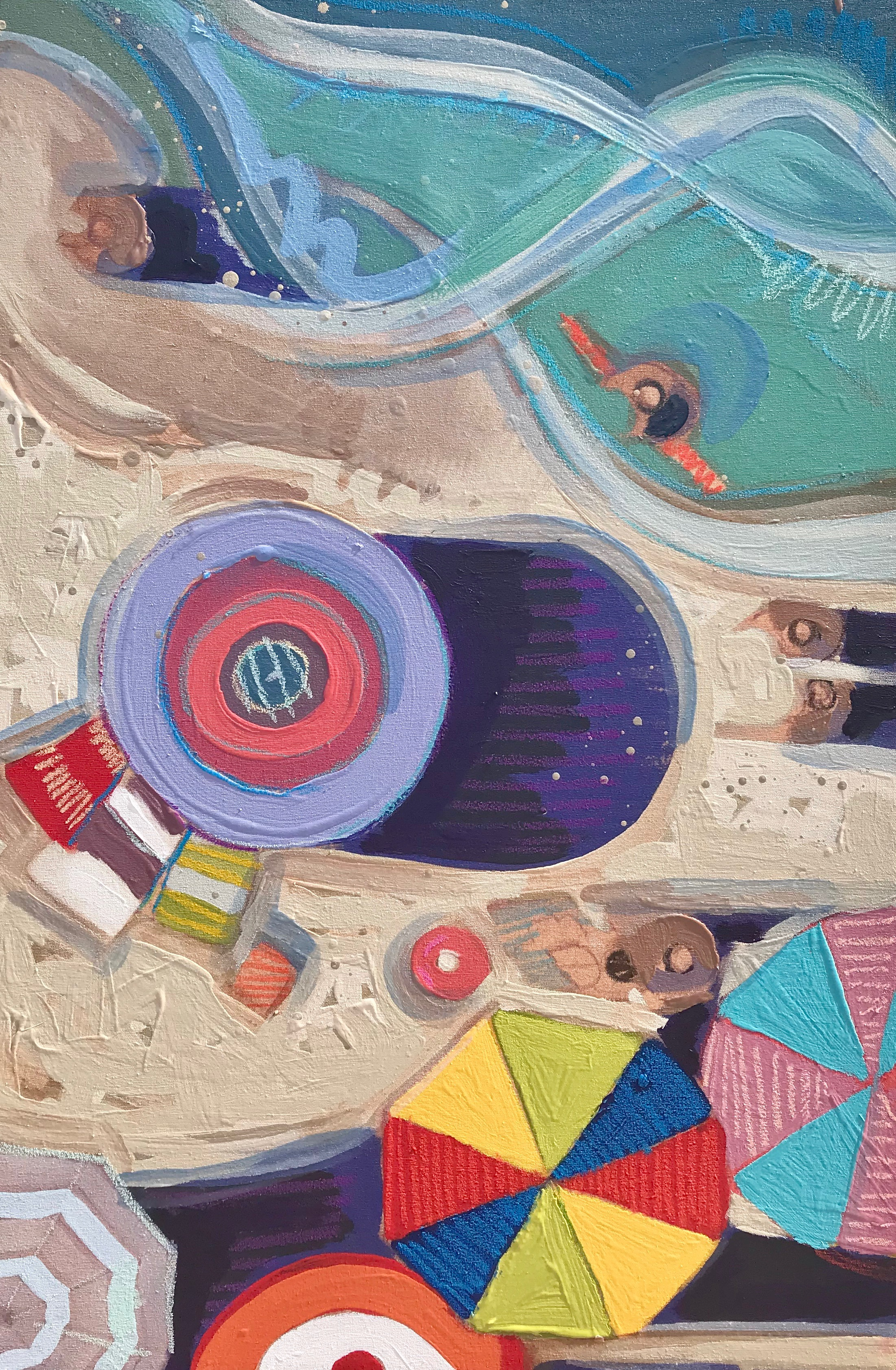 TIM JAEGER, LABOR DAY ON LIDO BEACH no. 14, 2019