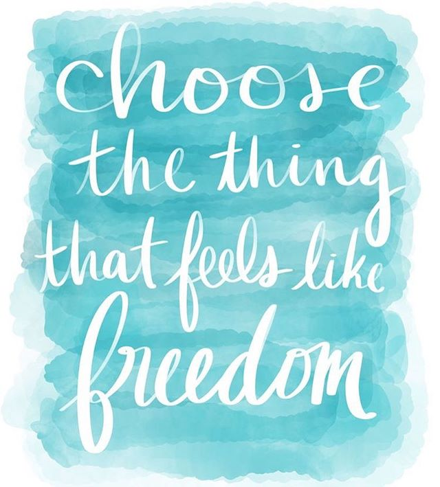 It is #amazing what can happen when you #choose to #free yourself of all the #things and #people who don't bring #joy into your #life. Always pick #you !! #letfreedomring #healthehurtcounseling #healthehurt #therapy #chooseyou #choosehappiness #therapy