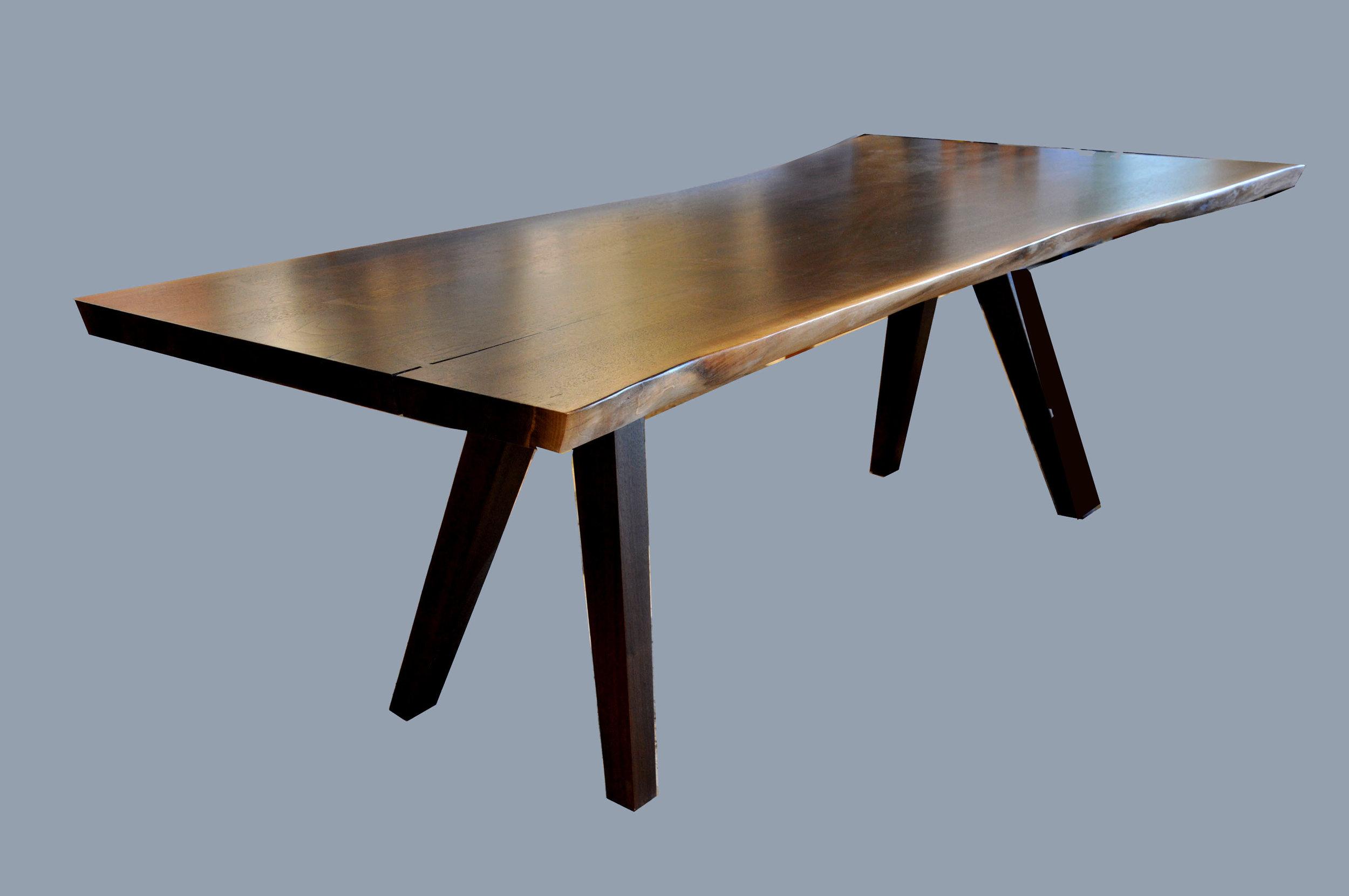 Walnut Live Edge Table