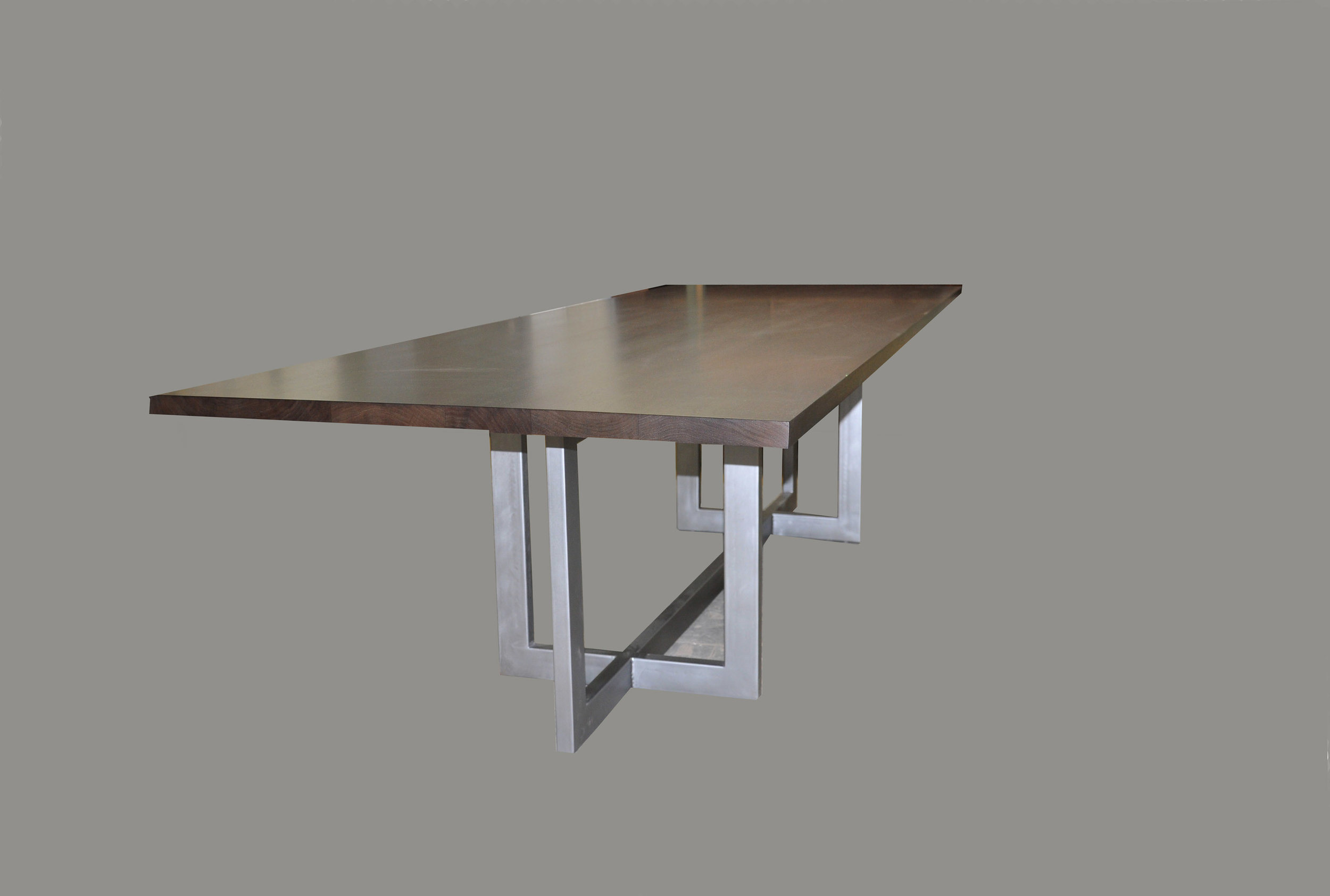 Steel Interlock Table Base