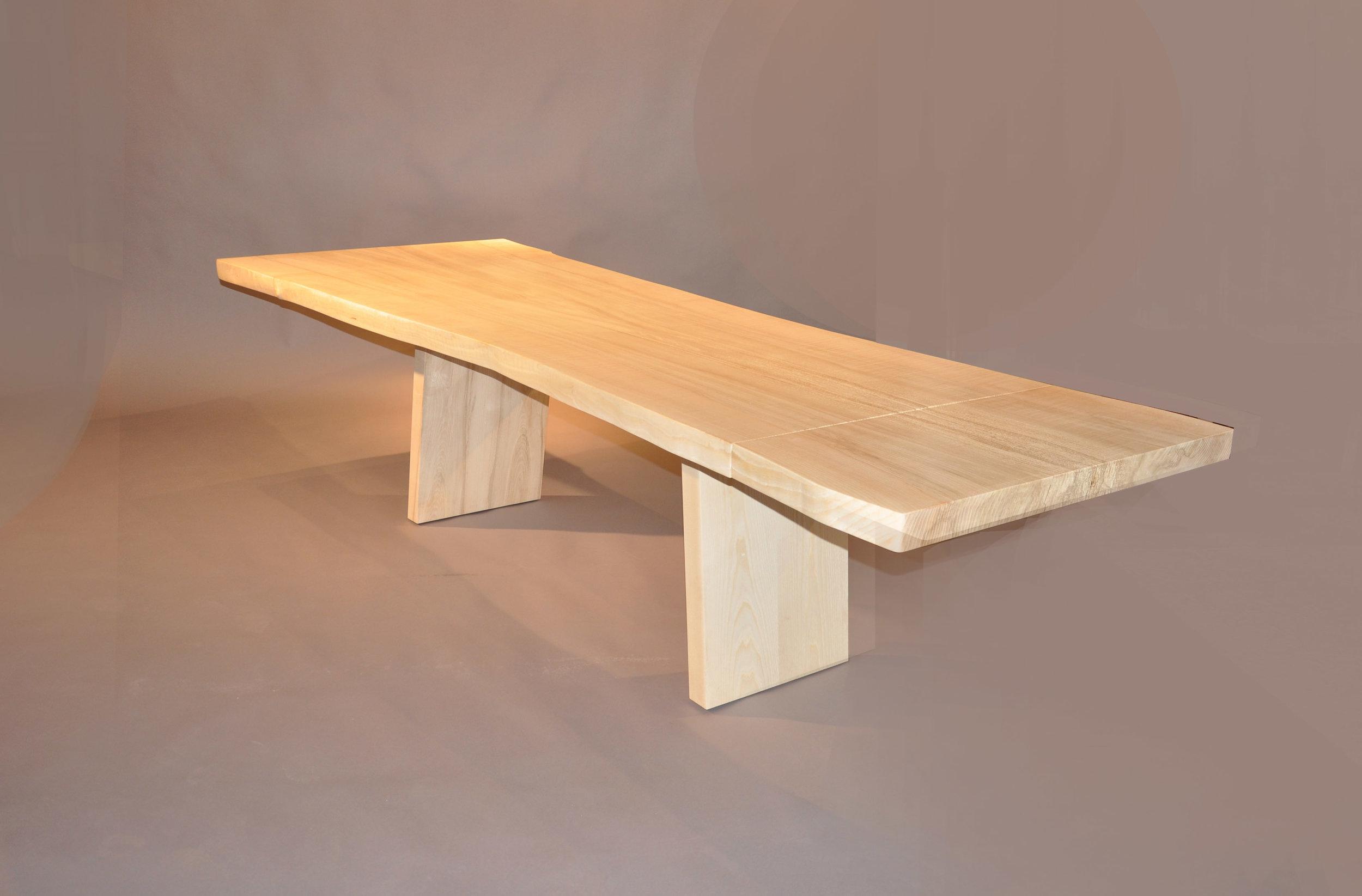 Trap Style Table Base Ash