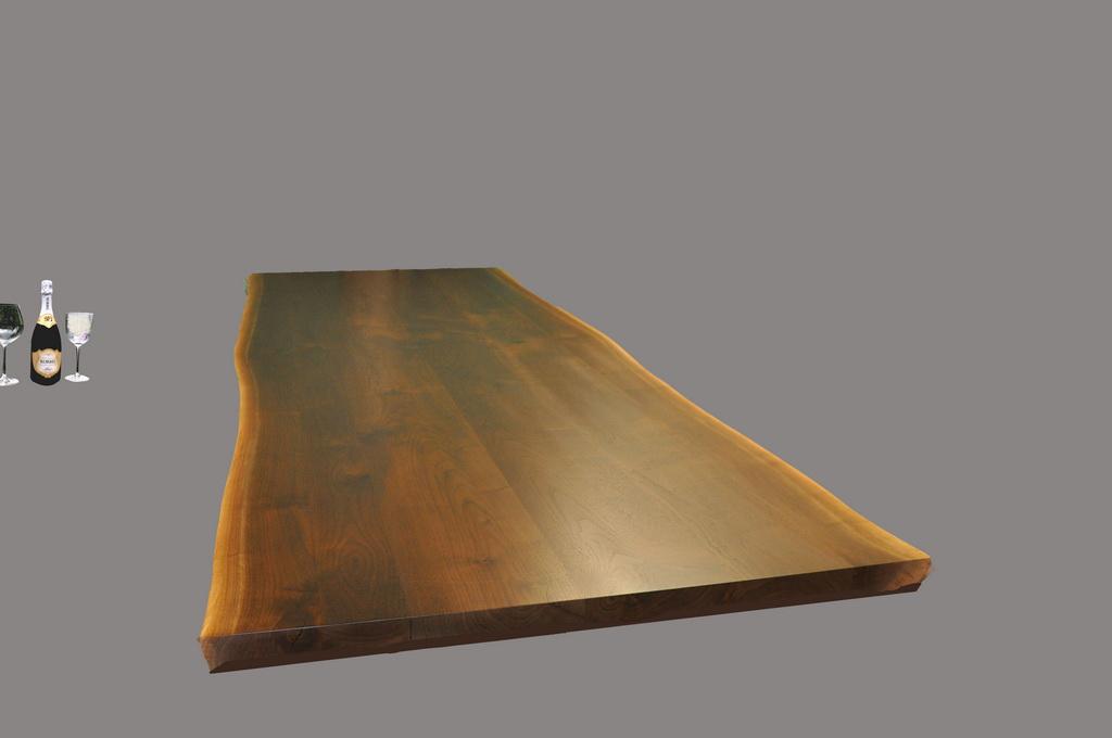 Walnut Multi-Plank Live Edge