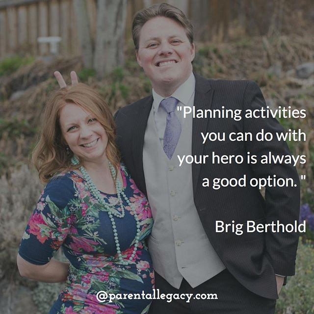 """Planning activities you can do with your hero is always a good option. Remember, quality time is critical. Also, planning things you and your hero can do separately is important.""⠀ ⠀ BOOK CONTEST: SIDEKICK, A Pregnancy Field Guide For Dudes (Only 4 more days!)⠀ Click here to enter: https://buff.ly/2H0cF47⠀ Contest Rules: You must be at least 18 and a legal resident of the US to participate. You enter by signing up for Parental Legacy Newsletter and providing a life lesson about pregnancy. You increase your chances of winning by continuing to promote the book to others. In doing so you are helping spread the word about Brig Berthold's new book!⠀ ⠀ Photo credit: @mallyking711"