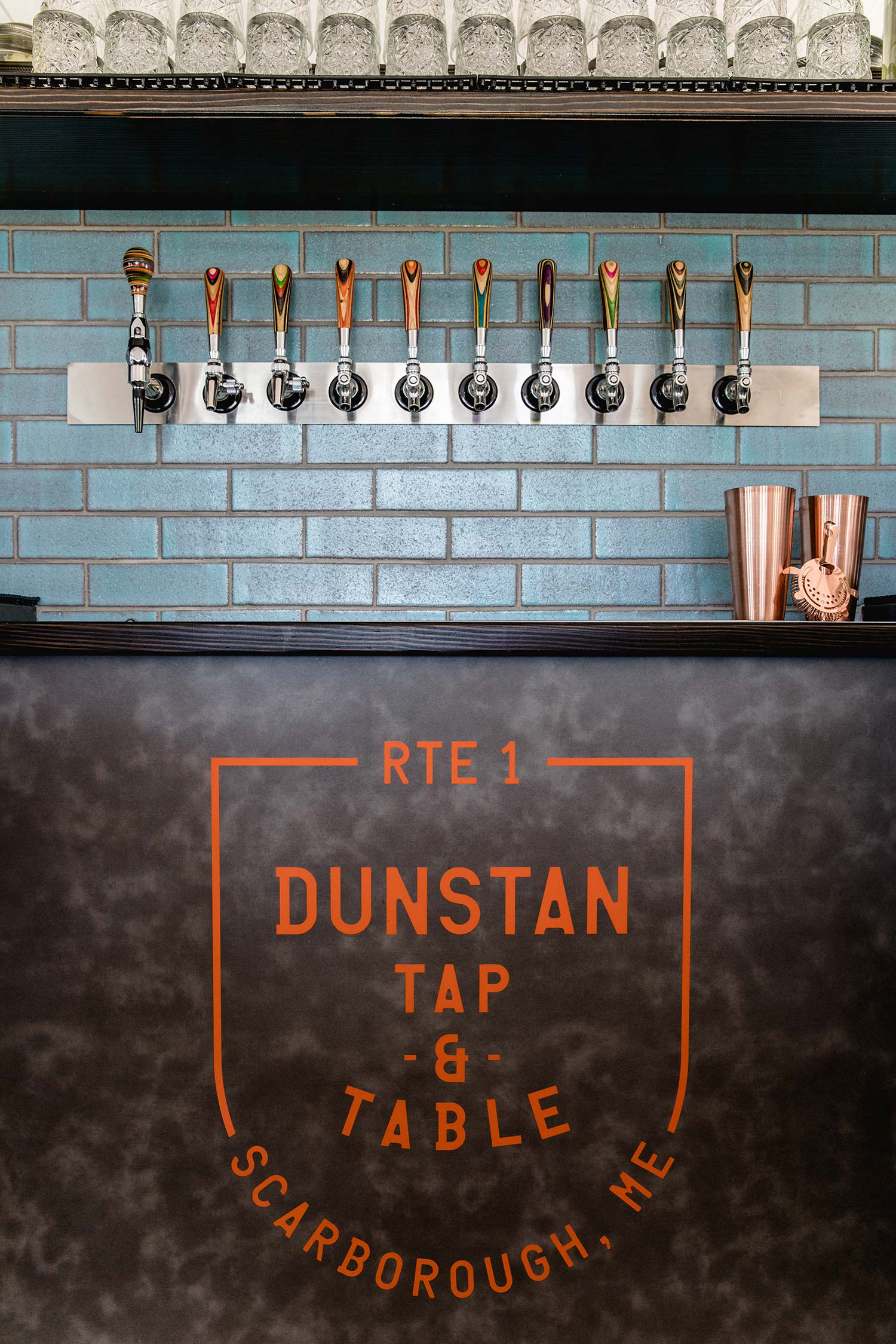 Dunstan Tap and Table, Scarborough, Maine, Bar Taps.jpg