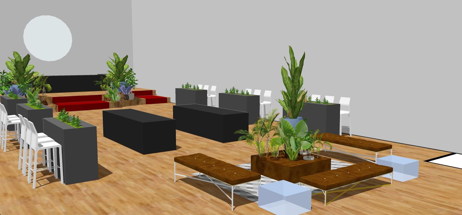 Renderings & Custom Interior Design -