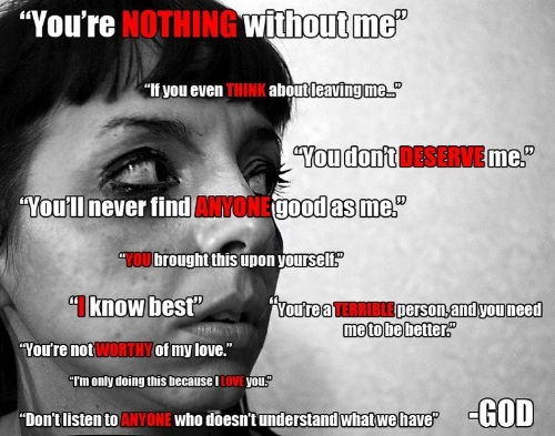 Just some of the things an abuser will tell you in a narcissistic abusive relationship. How many have you heard?