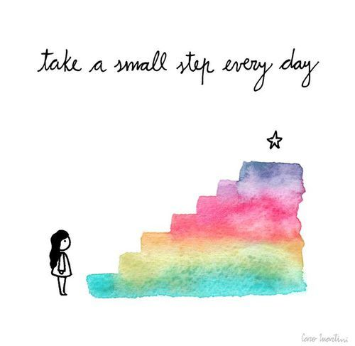 Just take your healing journey one day, one step at a time!